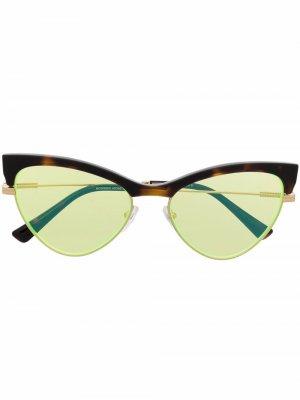 Солнцезащитные очки Moschino Eyewear. Цвет: коричневый