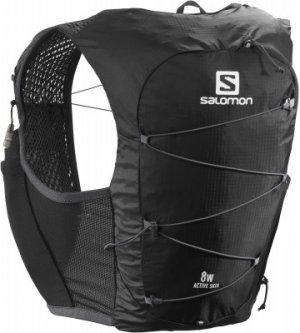 Рюкзак-жилет Active Skin Salomon. Цвет: черный