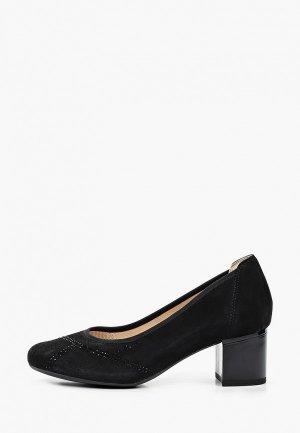 Туфли Caprice Увеличенная полнота, Comfort. Цвет: черный