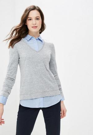 Пуловер Gepur. Цвет: серый