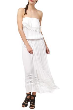 Платье DEBY DEBO. Цвет: white