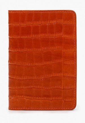 Обложка для паспорта Alexander Tsiselsky. Цвет: оранжевый