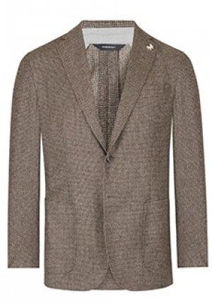 Пиджак TOMBOLINI. Цвет: коричневый
