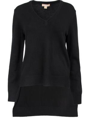 Кашемировый пуловер MICHAEL KORS. Цвет: черный