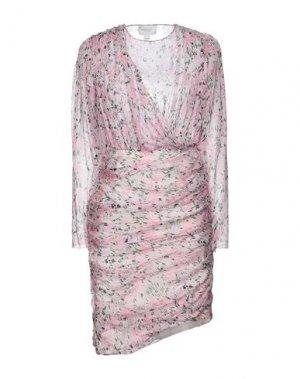 Короткое платье GIAMBATTISTA VALLI. Цвет: розовый