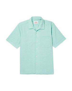 Pубашка BATTENWEAR. Цвет: светло-зеленый