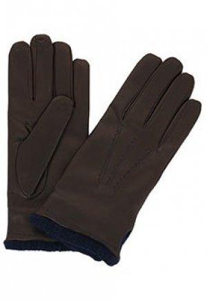 Перчатки BRUNO CARLO. Цвет: коричневый