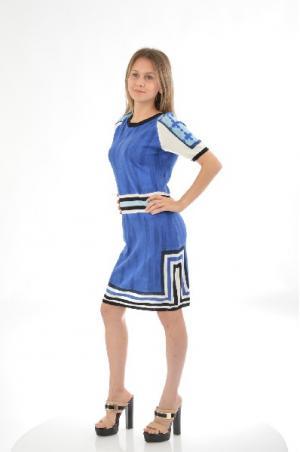 Платье ETINCELLE. Цвет: синий
