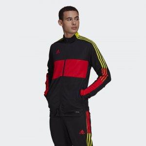 Олимпийка Tiro Performance adidas. Цвет: красный