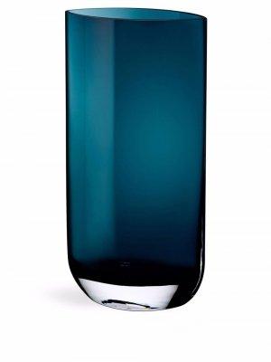 Высокая ваза Blade Nude. Цвет: синий