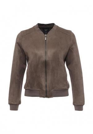 Куртка Sela. Цвет: коричневый