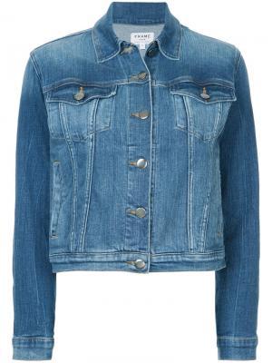 Джинсовая куртка Le Vintage FRAME. Цвет: синий