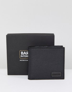 Черный бумажник Barbour International