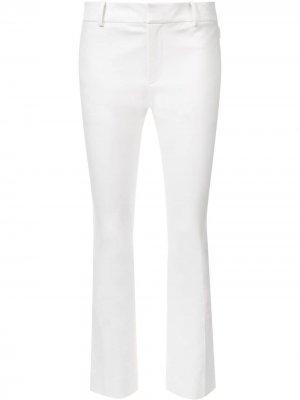 Расклешенные укороченные брюки Derek Lam 10 Crosby. Цвет: белый
