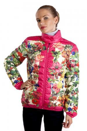 Куртка Just Valeri. Цвет: разноцветный