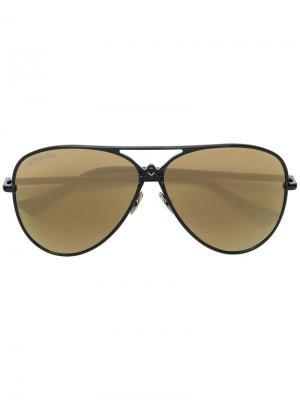 Aviator sunglasses Altuzarra. Цвет: черный