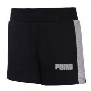 Шорты Contrast Shorts TR W PUMA. Цвет: черный