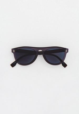 Очки солнцезащитные Fendi FF M0092/S XYO. Цвет: серый