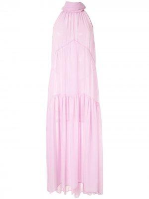 Платье макси Antoine CAMILLA AND MARC. Цвет: розовый