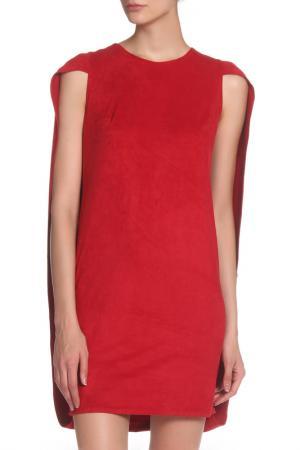 Платье IQDRESS. Цвет: красный