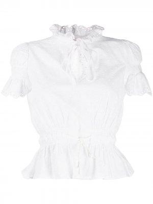 Блузка Sunday Morning byTiMo. Цвет: белый