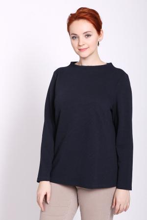 Пуловер Lebek. Цвет: синий