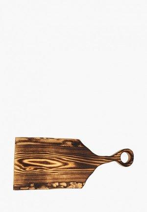 Доска разделочная Svahomeart. Цвет: коричневый