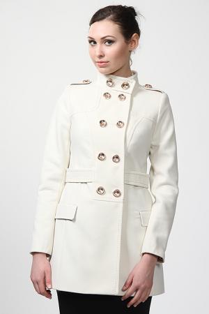 Пальто Exclusive. Цвет: белый