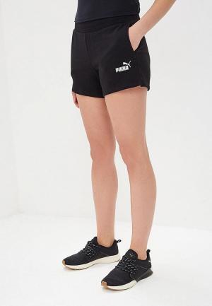 Шорты спортивные PUMA ESS Sweat Shorts TR. Цвет: черный