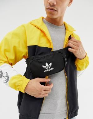 Черная сумка-кошелек на пояс -Черный adidas Originals