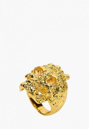 Кольцо Красная Жара. Цвет: золотой