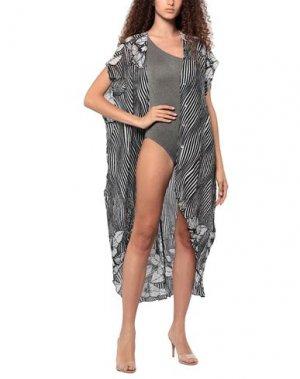 Пляжное платье AGOGOA. Цвет: черный
