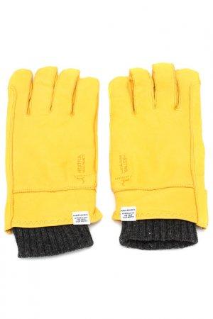 Перчатки NORSE PROJECTS. Цвет: желтый