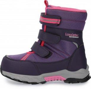 Ботинки утепленные для девочек Boulder, размер 25 LASSIE. Цвет: фиолетовый