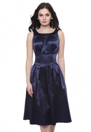 Платье Grey Cat AUDRA. Цвет: синий