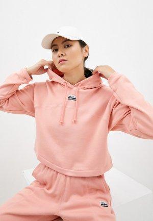 Худи adidas Originals CROPPED HOODIE. Цвет: розовый