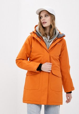 Парка Didriksons BLISS. Цвет: оранжевый