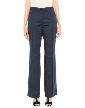 Повседневные брюки AKRIS PUNTO. Цвет: темно-синий