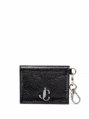 Umika leather card holder Jimmy Choo. Цвет: черный