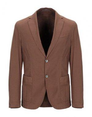 Пиджак RODA. Цвет: коричневый