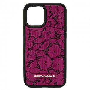 Чехол для iPhone 12 Pro Max Dolce & Gabbana. Цвет: розовый