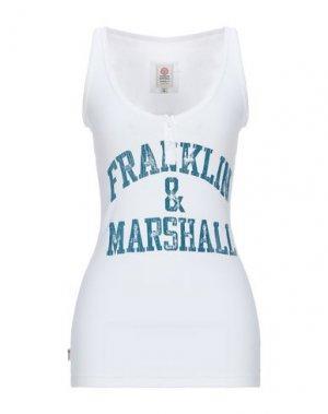Майка FRANKLIN & MARSHALL. Цвет: белый