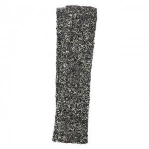 Шерстяные митенки Dolce & Gabbana. Цвет: серый