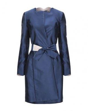 Легкое пальто BOTONDI MILANO. Цвет: синий