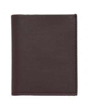 Бумажник TROUBADOUR. Цвет: темно-коричневый