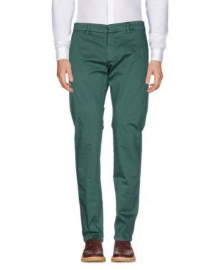 Повседневные брюки ARMATA DI MARE. Цвет: зеленый