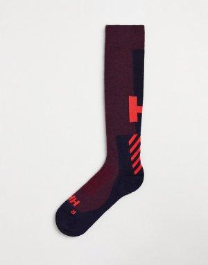Розовые горнолыжные носки Alpine-Розовый цвет Helly Hansen