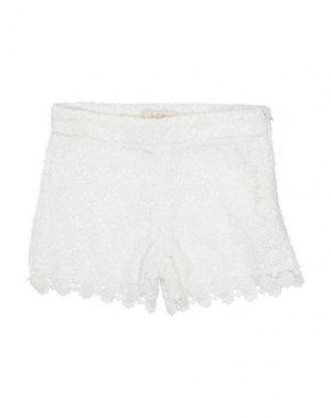 Повседневные шорты ELSY. Цвет: белый