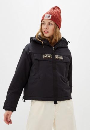 Куртка утепленная Napapijri SKIDOO W CREATOR. Цвет: черный