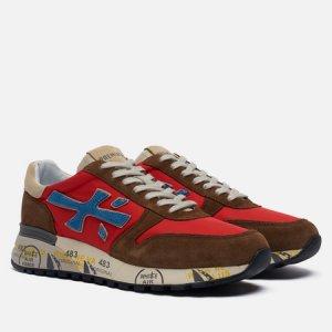 Мужские кроссовки Mick 5193 Premiata. Цвет: коричневый